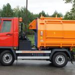 Multicar M27 EURO V svoz odpadu lisovací nástavba