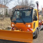 Multicar M30 FUMO čelní sněhová radlice