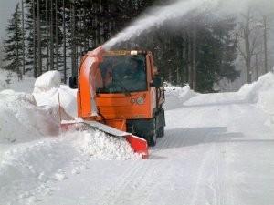 Multicar Sněhová fréza