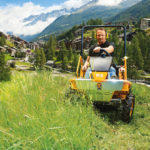 Traktorová sekačka AS 90 Sherpa