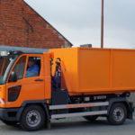 Kontejner pro hákový nosič vozidla Multicar