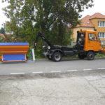 Multicar hákový nosič kontejnerů