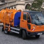 Multicar M27 svoz odpadu lisovací nástavba