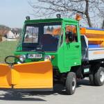 Multicar M25 sněhová šípová radlice