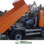M27 EURO 5 třístranný sklápěč