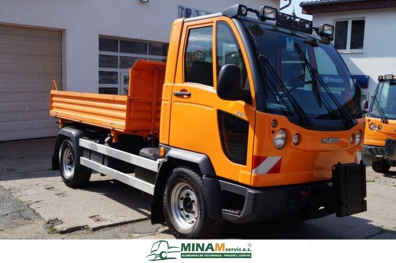 Multicar M27 EURO 5 třístranný sklápěč