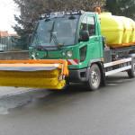 Multicar M27 EURO V válcový silniční zametač