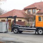 Multicar M27 EURO V hákový nosič kontejnerů