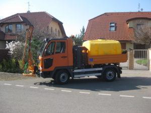 Multicar vodní cisterna
