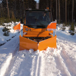 Multicar M27 euro v sněhová šípová radlice