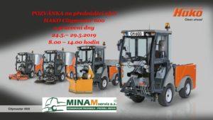 Pozvánka HAKO Citymaster 600