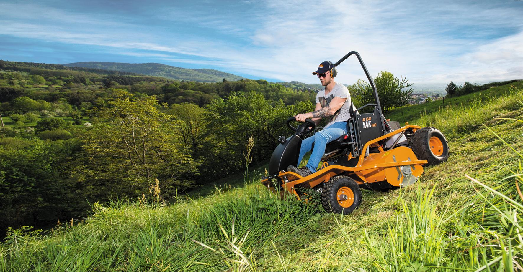 Traktorové sekačky AS Motor